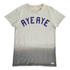 T-shirt Tie&Dye Gris chiné
