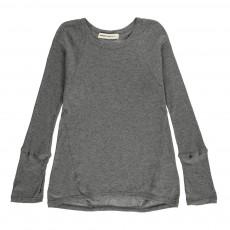 T-shirt Ouverture pour Pouce Milligan Gris chiné