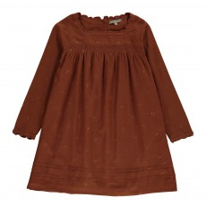 Robe Smockée Mukesh Caramel
