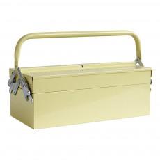 Boîte à outils en acier Jaune