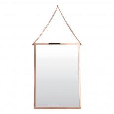 Miroir Bolina 45x32 cm Cuivre