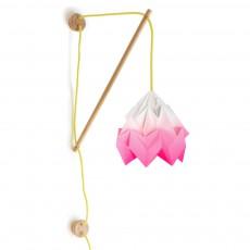 Lampe Klimoppe dégradé Rose fluo