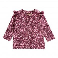 T-Shirt Léopard Maddy Rose fuschia