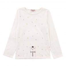 T-Shirt Pluie Mutlicolore Blanc cassé