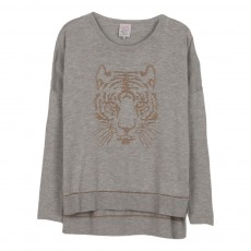 Pull Miaouy Gris