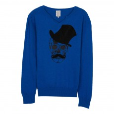 Pull Mugu Bleu roi