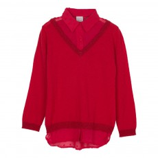 Pull Mutty Rouge