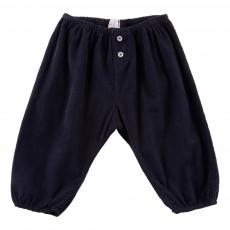 Pantalon Velours Nico Bleu nuit