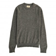 Pull Col Rond Godal Gris