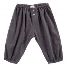 Pantalon Velours Nico Gris anthracite