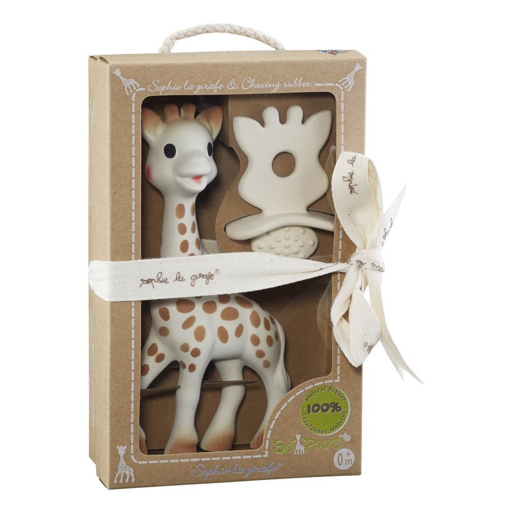 coffret sophie la girafe et anneau de dentition vulli jeux jouets loisirs enfant smallable. Black Bedroom Furniture Sets. Home Design Ideas