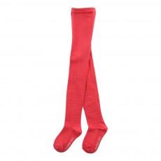 Collants Carreaux Rouge