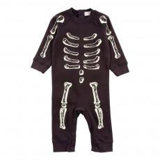 Combinaison Phosphorescente Squelette Jimbo Noir