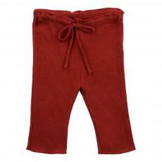 Pantalon Lien Taille Silvia Rouille