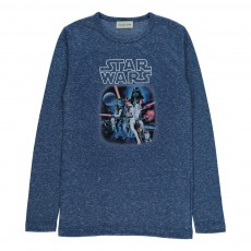 T-Shirt Starwars  Bleu chiné