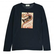 T-Shirt Grandprix Bleu marine