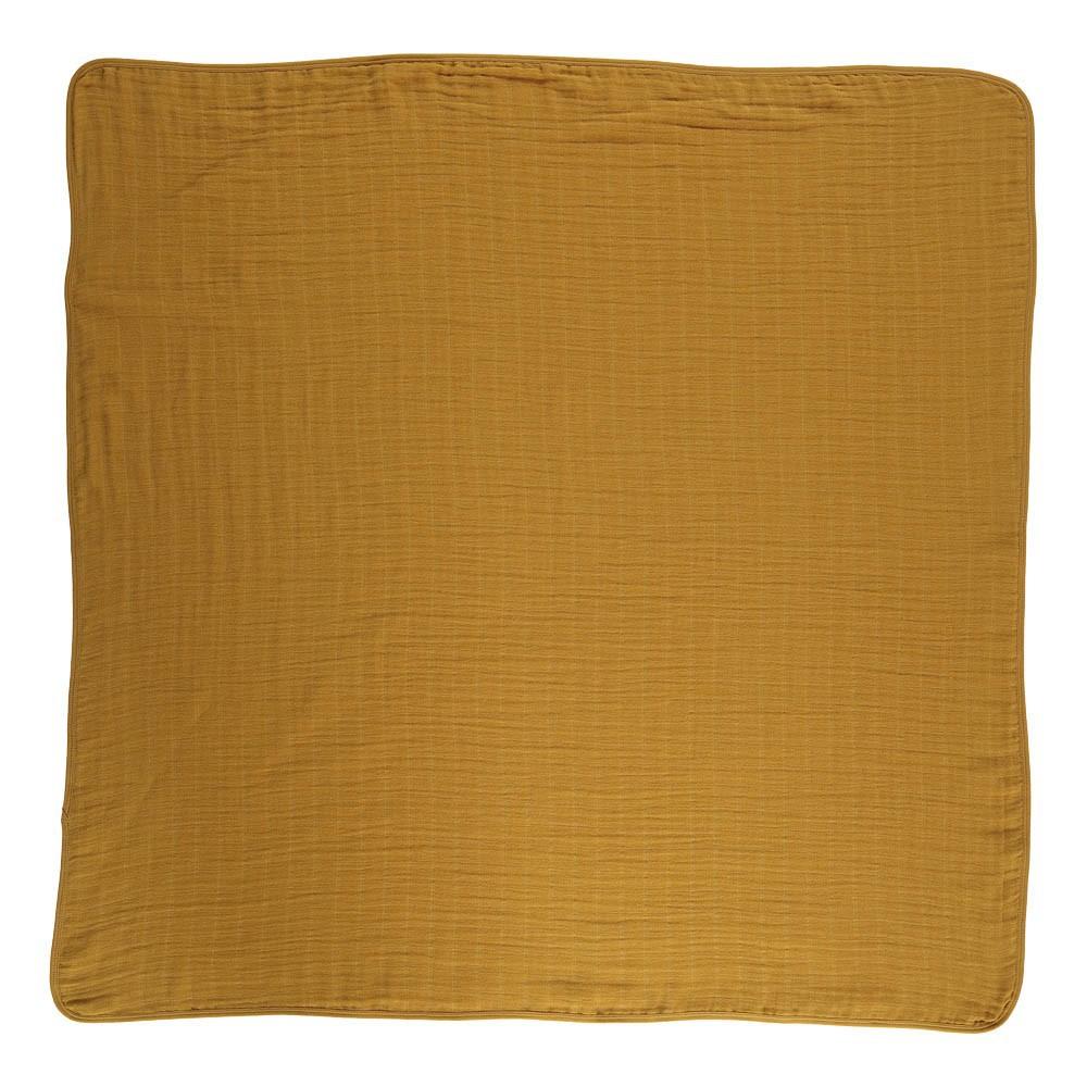 plaid pan pan jaune moutarde moumout d coration smallable. Black Bedroom Furniture Sets. Home Design Ideas