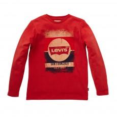T-shirt Dominic ML Rouge