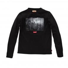 T-shirt Slim Derick ML Noir