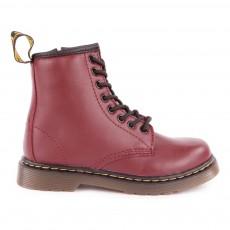 Boots Zippées Delaney Bordeaux