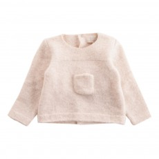 Pull Poche Ivoire