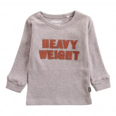 T-Shirt Coton Bio Heavy Weight Gris chiné