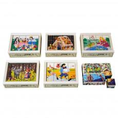 Puzzle 12 cubes Contes