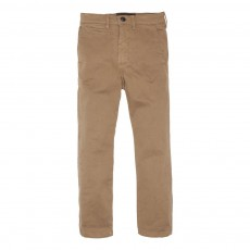 Pantalon Chino Straight Fit Scotty Marron glacé