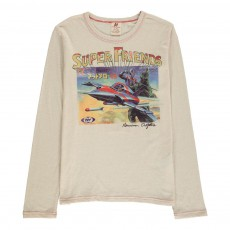 T-Shirt Super Friends Ecru