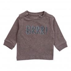 T-Shirt Coton Bio BRRR Gris