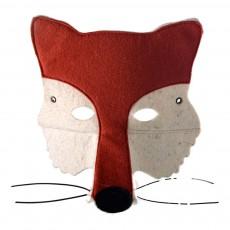Masque en feutre renard