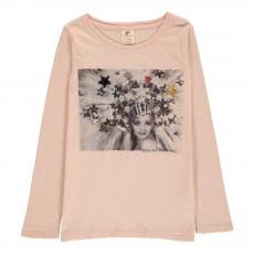 T-Shirt Etoiles Rose pâle