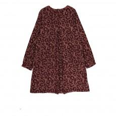 Robe Leopard Poches Chocolat