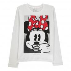 T-shirt Minnie ML Blanc