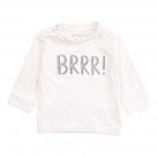 T-Shirt Coton Bio BRRR Ecru
