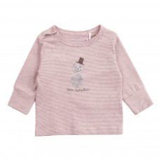 T-Shirt Coton Bio Mr Winter Rose