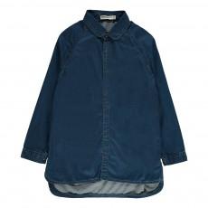 Robe Denim   Bleu