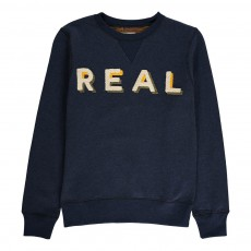 "Sweat ""REAL"" Akne Bleu marine"