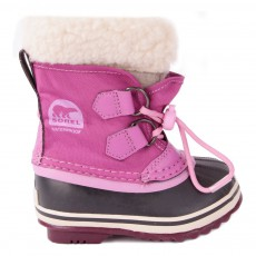 Boots Nylon Imperméable Yoot Pac Rose