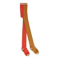 Collants Tricolores Rouge