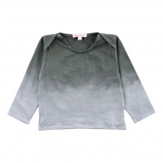 T-Shirt Dégradé Shaded Gris