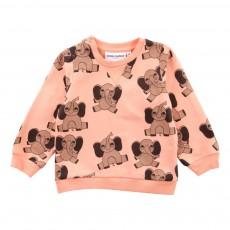 Sweat Elephant Coton Bio Rose pâle