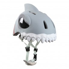 Casque Requin blanc Gris