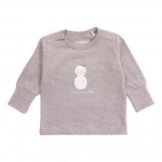 T-Shirt Coton Bio Mr Winter Gris