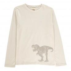 T-shirt Tirannosuro Beige