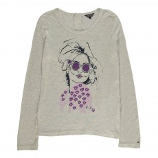 T-Shirt Sydney Gris chiné