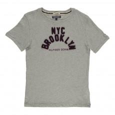 T-Shirt Tabib Brooklyn Gris chiné
