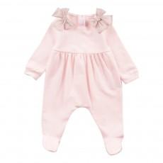 Pyjama Nœuds Epaules Rose pâle