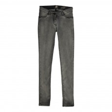 Jean 4 Poches Skinny Gris