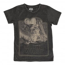 T-shirt Star Wars Moonstar Noir